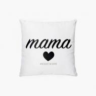 Poduszka, bawełna, Przyszła mama, 38x38 cm