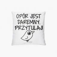 Poduszka, bawełna, Kolekcja Ptaszek Staszek - Słodziak, 38x38 cm
