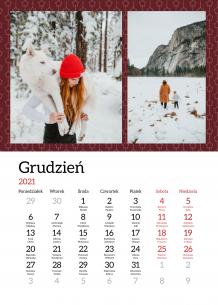 Kalendarz, Cudowne 365 dni, 20x30 cm