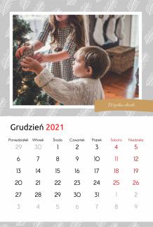 Kalendarz, Rodzinne Opowieści, 20x30 cm