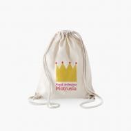 Plecak sznurkowy Plecak królewicza