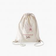 Plecak sznurkowy Plecak księżniczki