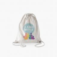 Plecak sznurkowy Kolorowe Lamorożce