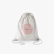 Plecak sznurkowy Minimalistyczny