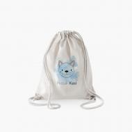 Plecak sznurkowy Dziecięcy ze zwierzakami