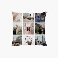 Poszewka, bawełna, Instagramowa, 38x38 cm