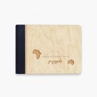 Album drewniany Zawsze jest czas na przygodę, 18x14 cm