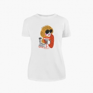 Koszulka damska, Kolekcja Porysunki - Aperol - damska
