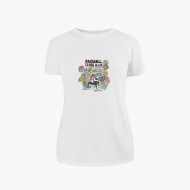 Koszulka damska, Kolekcja Porysunki - Pandemic class - damska