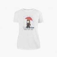 Koszulka damska, Kolekcja Rynn rysuje - Zrób sobie dzień dobry - damska