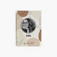 Notes Kolekcja By CookieMint - Rustical Orange - kratka, 15x21 cm