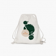 Plecak sznurkowy Kolekcja by CookieMint - Dark Green