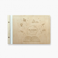 Album drewniany Dla nauczyciela, 34x23 cm