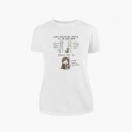 Koszulka damska, Kolekcja Rynn Rysuje - Dwie grupy ludzi - damska