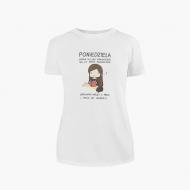 Koszulka damska, Kolekcja Rynn Rysuje - Poniedziela - damska
