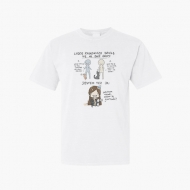 Koszulka męska, Kolekcja Rynn Rysuje - Dwie grupy ludzi - męska