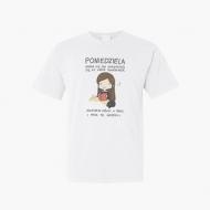 Koszulka męska, Kolekcja Rynn Rysuje - Poniedziela - męska