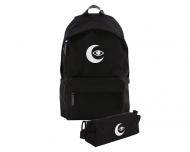 Plecak szkolny Zestaw Plecak szkolny i piórnik Moon Eye