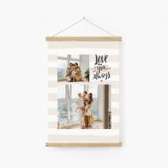 Obraz na sznurku, Love, 20x30 cm