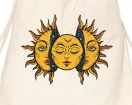 Plecak sznurkowy Yellow aztec suns
