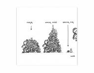 Magnes Kolekcja Kura rysuje - Zabawki, 9x9 cm
