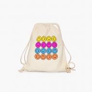 Plecak sznurkowy Colorful smileys emoji