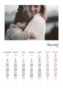 Kalendarz, Uniwersalny, 20x30 cm
