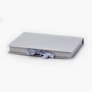 Pudełko na fotoksiażkę, 20x30/30x20 szare, 24x33 cm