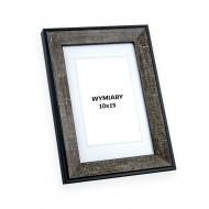Ramka na zdjęcie Beżowo-czarny - DRI R 12, 10x15 cm