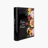 Album na zdjęcia Czarny kwiaty - 200 zdjęć, 20x25 cm