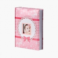 Album na zdjęcia Różowe okienko - 300 zdjęć, 20x25 cm