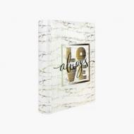 Album na zdjęcia Złoty napis - 200 zdjęć, 20x25 cm