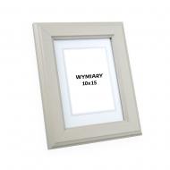 Ramka na zdjęcie Kremowa - DRZ A 04, 10x15 cm