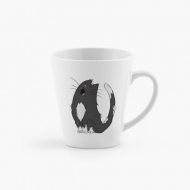 Kubek latte, Kot
