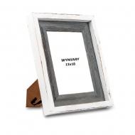 Ramka na zdjęcie Biało-szara - RD313, 13x18 cm