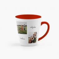 Kubek latte, Heart