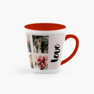 Kubek latte, Kolaż ślubny