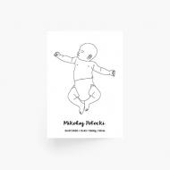Plakat, Baby , 30x40 cm