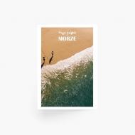 Plakat, Wakacje nad morzem - widok, 40x60 cm