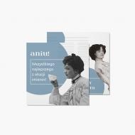 Fotokartki Kartka retro na imieniny dla niej, 14x14 cm