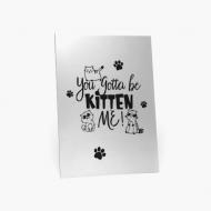 Obraz, Kitten me, 20x30 cm