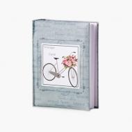 Album na zdjęcia Rower z kwiatami - 300 zdjęć, 20x25 cm