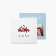 Fotokartki Joy Fun - Wesołych Świąt, 14x14 cm