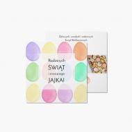 Fotokartki Smacznego jajka, 14x14 cm