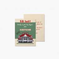 Fotokartki 50te urodziny, 15x20 cm
