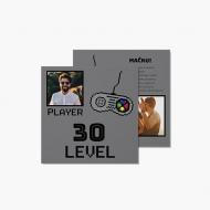 Fotokartki 30 Level, 14x14 cm