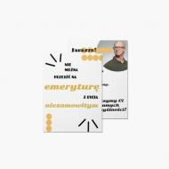 Fotokartki Prezent dla emeryta, 15x20 cm
