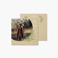 Zaproszenia Boho Save The Date, 14x14 cm