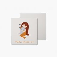Fotokartki Karta - Mamo, kocham Cię!, 14x14 cm