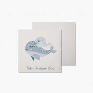 Fotokartki Karta - Tato, kocham Cię!, 14x14 cm